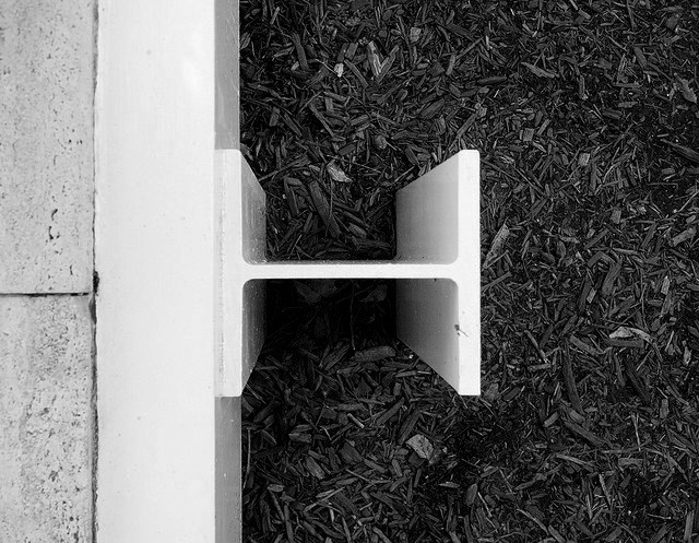 Detalle estructura deck Casa Farnsworth (5)