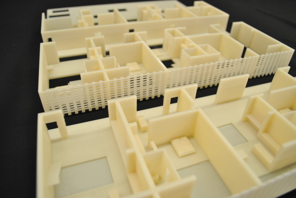 Model studies from one of the student proposals for the Net-Zero Energy House Prototype. Image Courtesy of Pillars of Sustainable Education