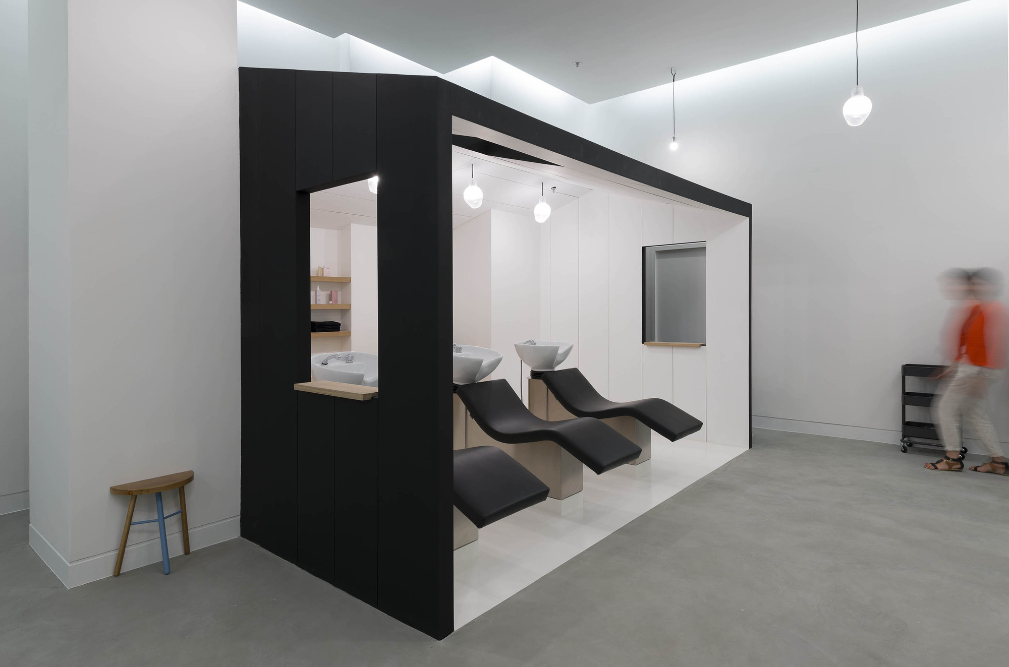 Gallery of le coiffeur margaux keller design studio for Meuble coiffure