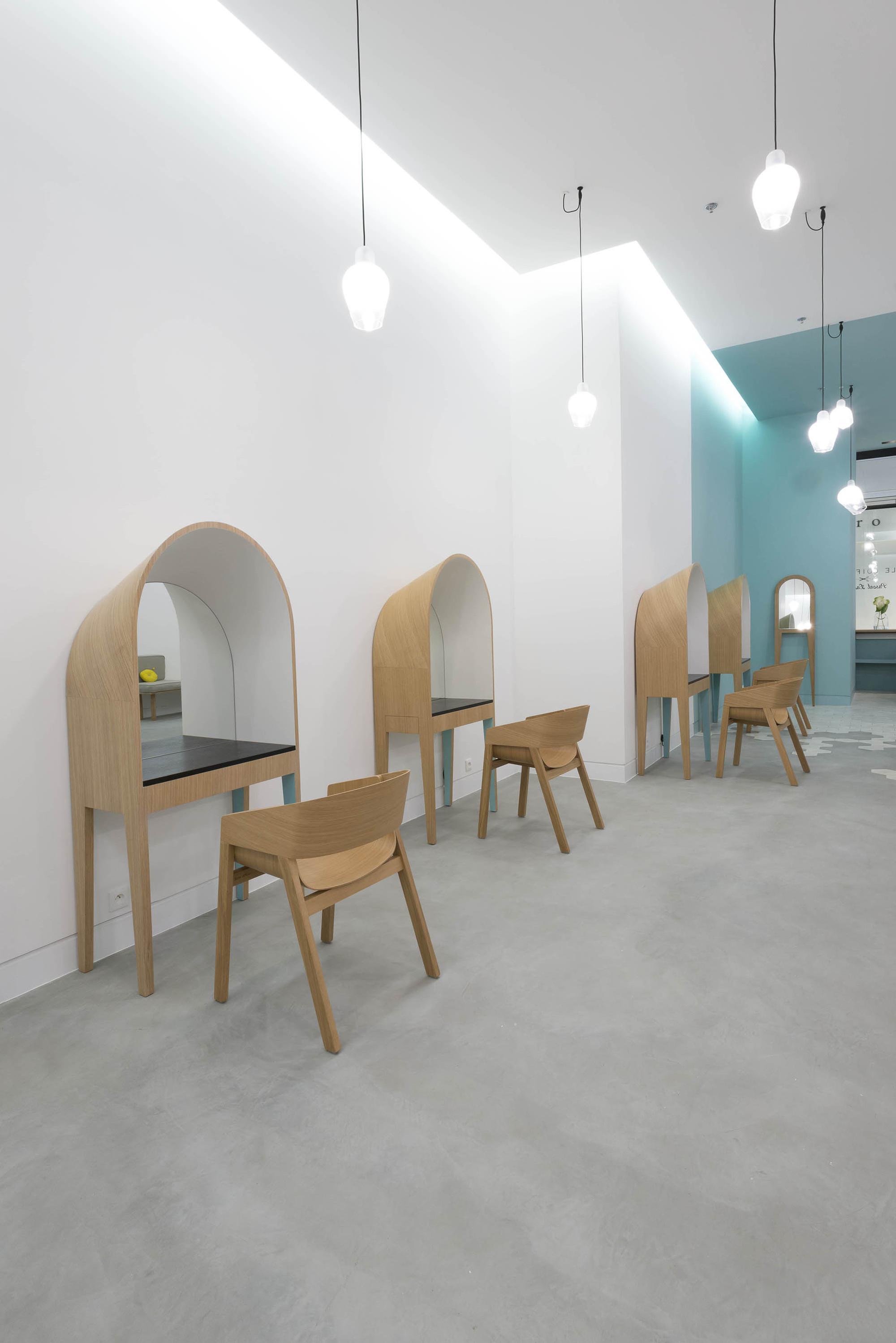Le Coiffeur / Margaux Keller Design Studio + Bertrand Guillon ...