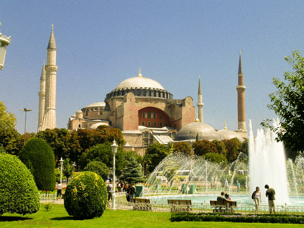 The Hagia Sophia. Image © Flickr CC User Collin Key