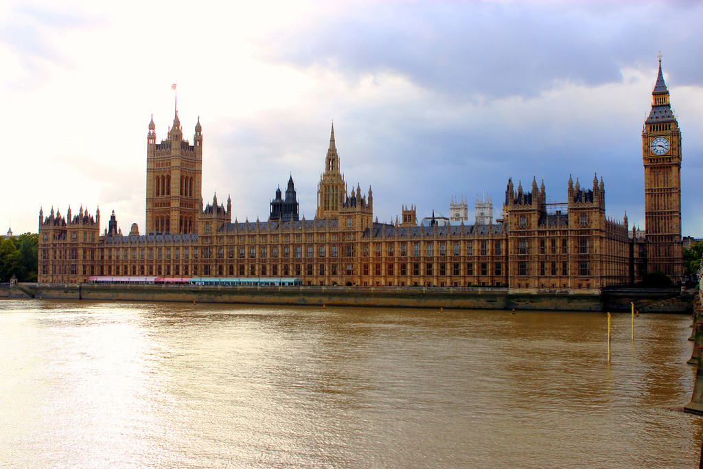 The Palace of Westminster. Image © Flickr CC User Justin Ennis