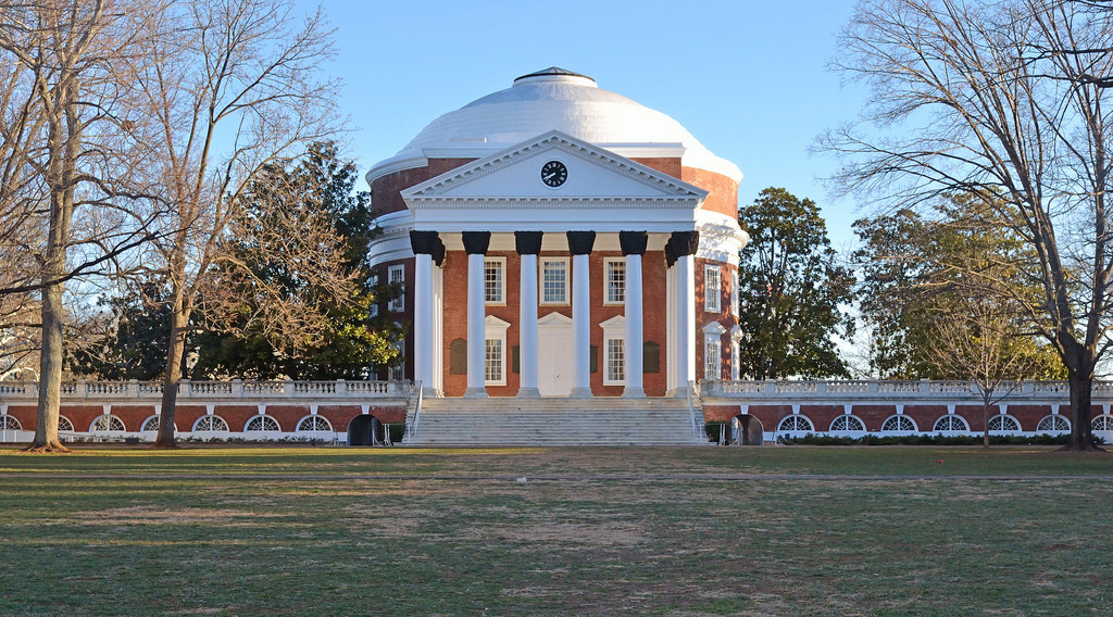 The Rotunda at the University of Virginia. Image © Flickr CC User Dale Winling