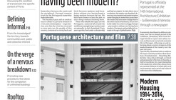 "Venice Biennale 2014: Portugal to Distribute ""Homeland"" Newspaper Based on Housing"