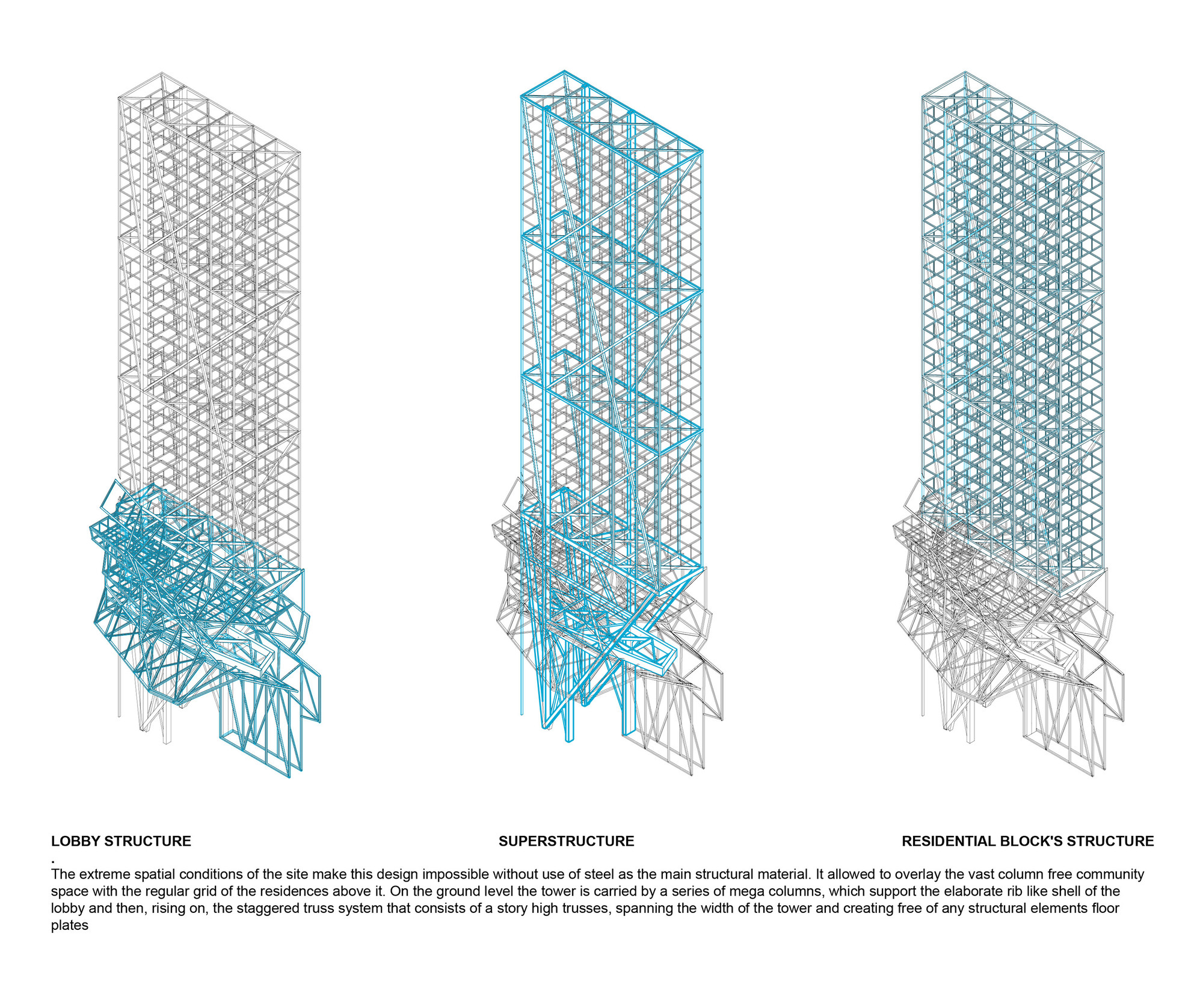 Proposal for New York Skyscraper Cantilevers Lobby Over Its ...