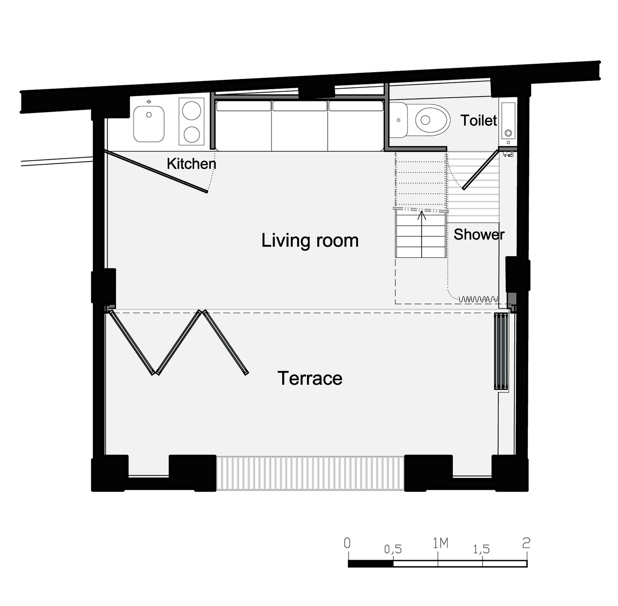 Pavillon d 39 t no mie meney archdaily for Plan pavillon moderne