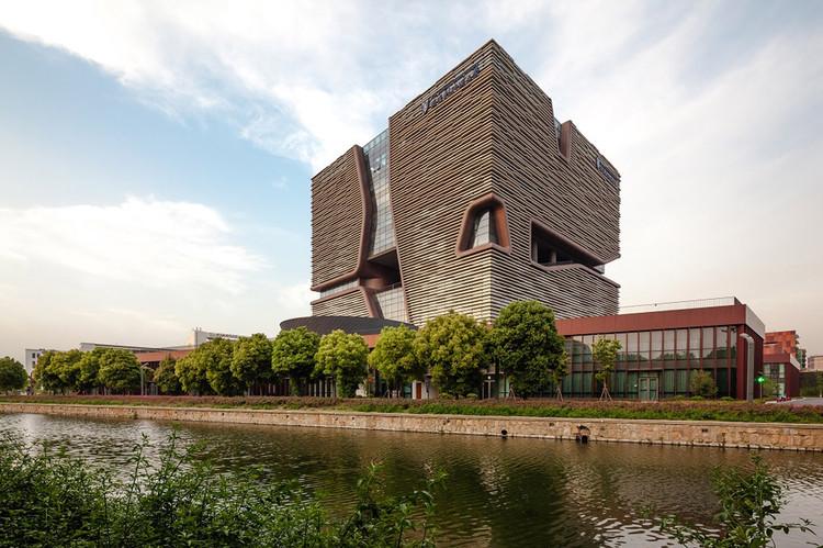Edificio de Administración de Información de la Universidad Xi'an Jiaotong-Liverpool / Aedas, Cortesía de Aedas