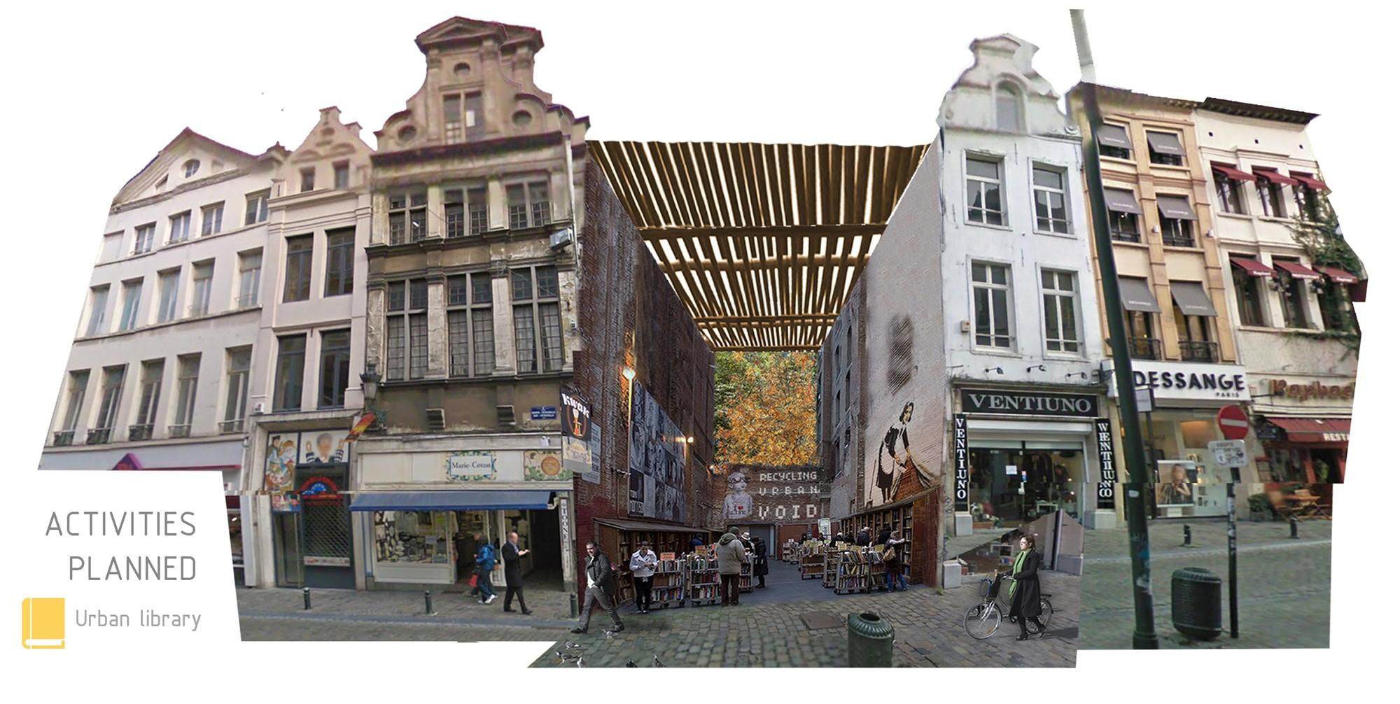 Bruselas [Después]. Image Courtesy of Aula de Arquitectura Social AAS UCAM