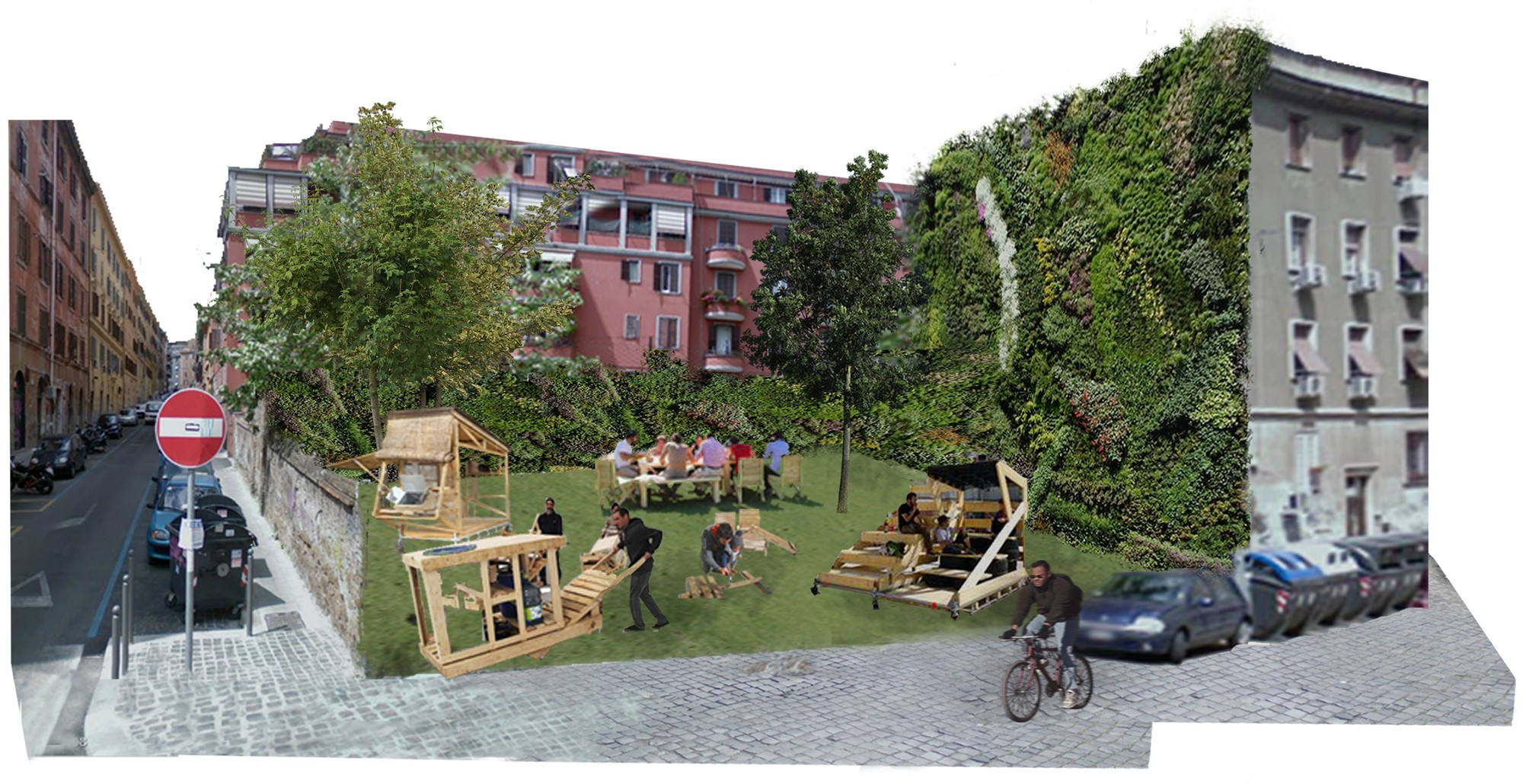 Italia [Después]. Image Courtesy of Aula de Arquitectura Social AAS UCAM