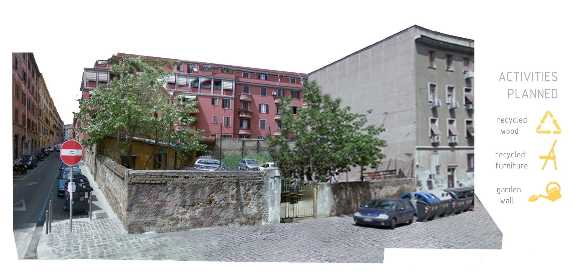 Italia [Antes]. Image Courtesy of Aula de Arquitectura Social AAS UCAM