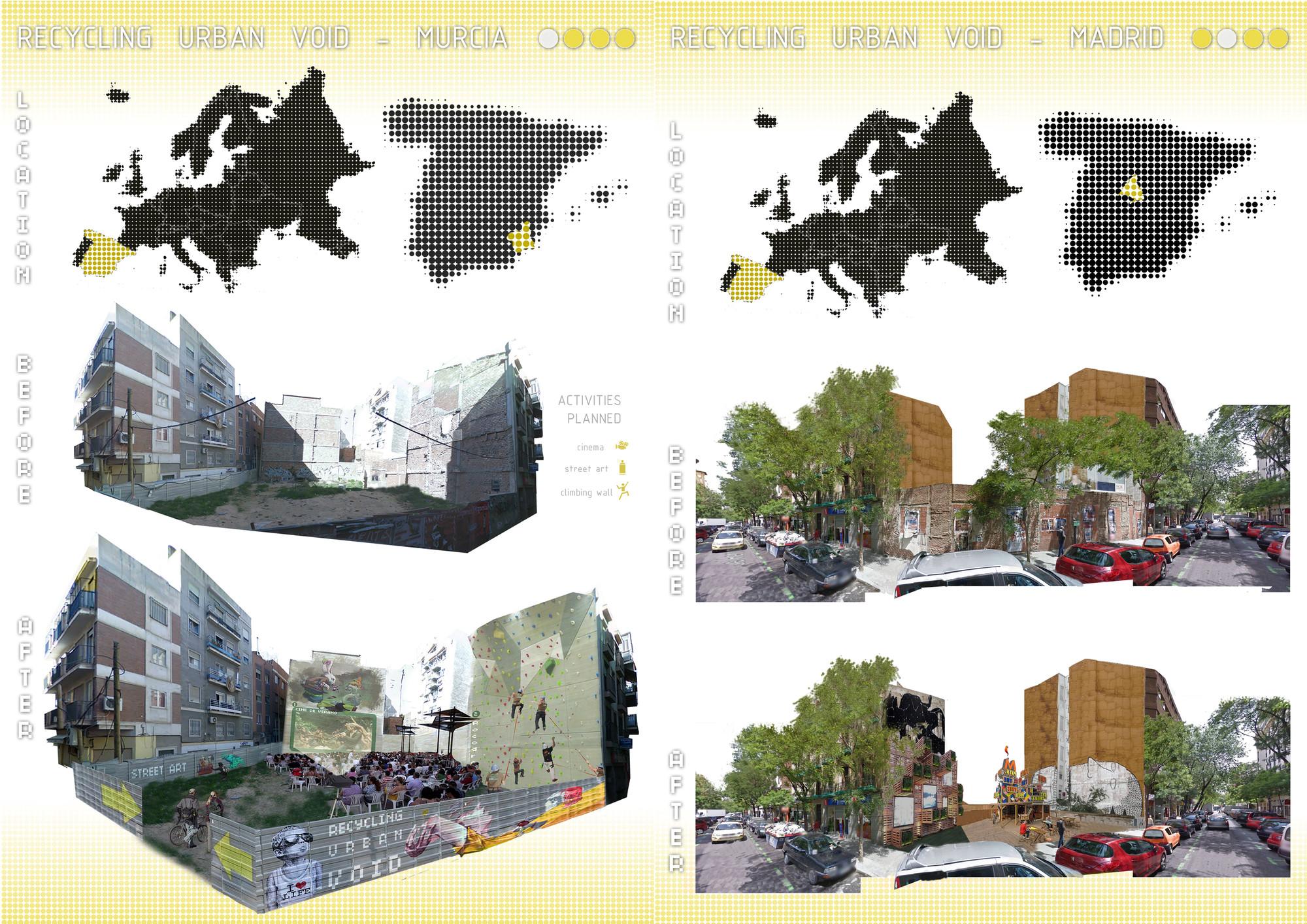Lámina 03. Image Courtesy of Aula de Arquitectura Social AAS UCAM