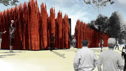 "Grupo Talca Wins 2014 YAP CONSTRUCTO with ""Wicker Forest"""