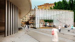 Orizzontale's Recycled Keg Wall Wins YAP MAXXI