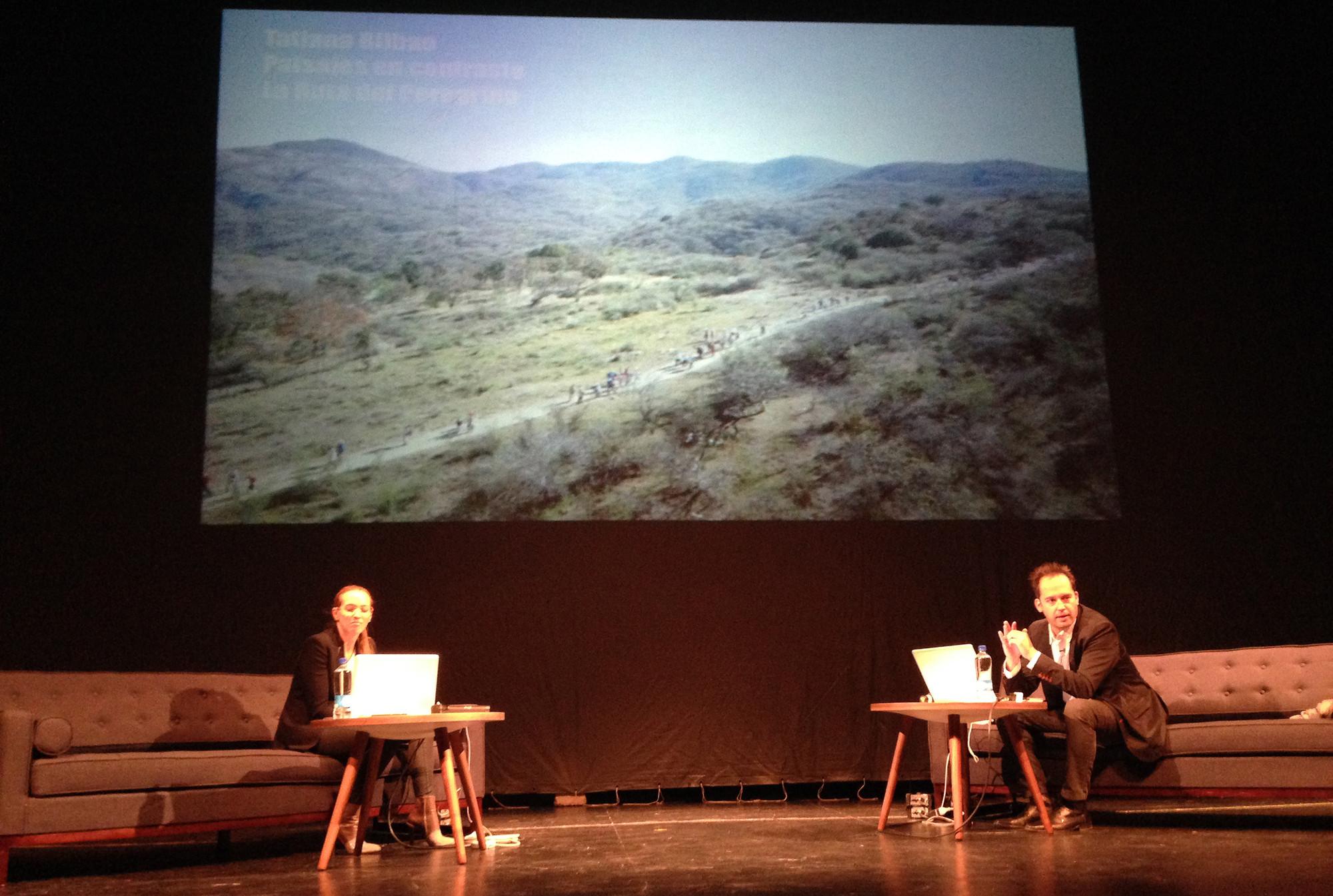 Tatiana Bilbao y Felipe Assadi. Image Courtesy of Arquine
