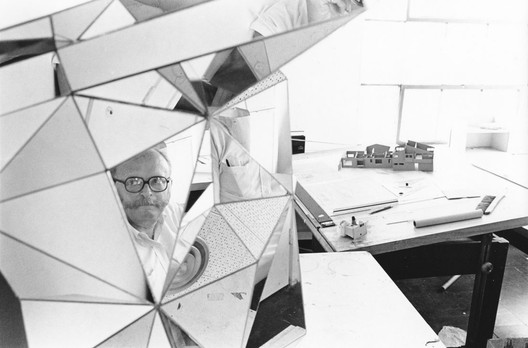 A portrait of Moore, who was always more interested in how people moved through spaces—and the resulting fragmentary views—than a single beauty shot. Image Courtesy of Charles Moore Foundation