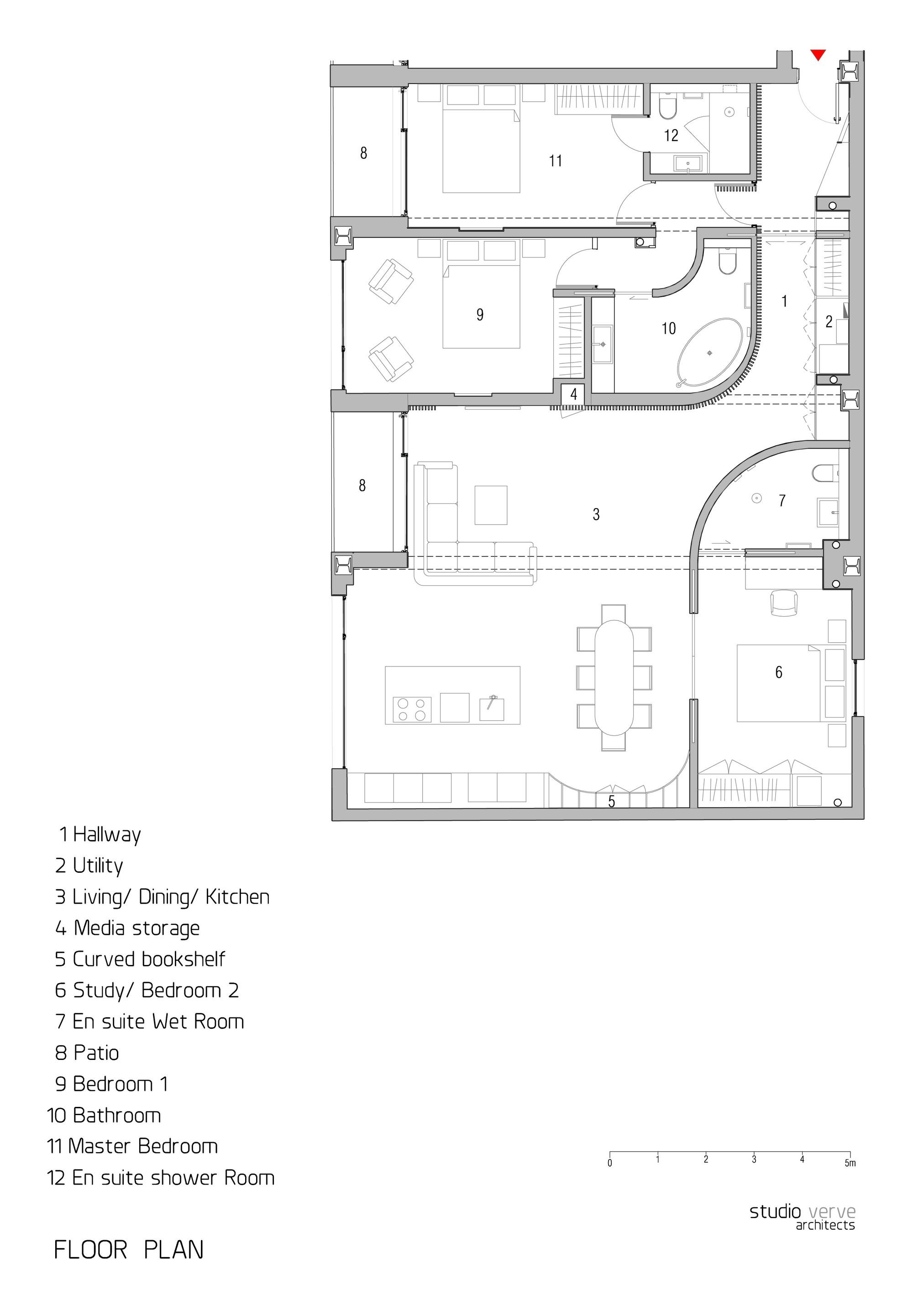 gallery of redchurch loft apartment / studio verve architects - 14