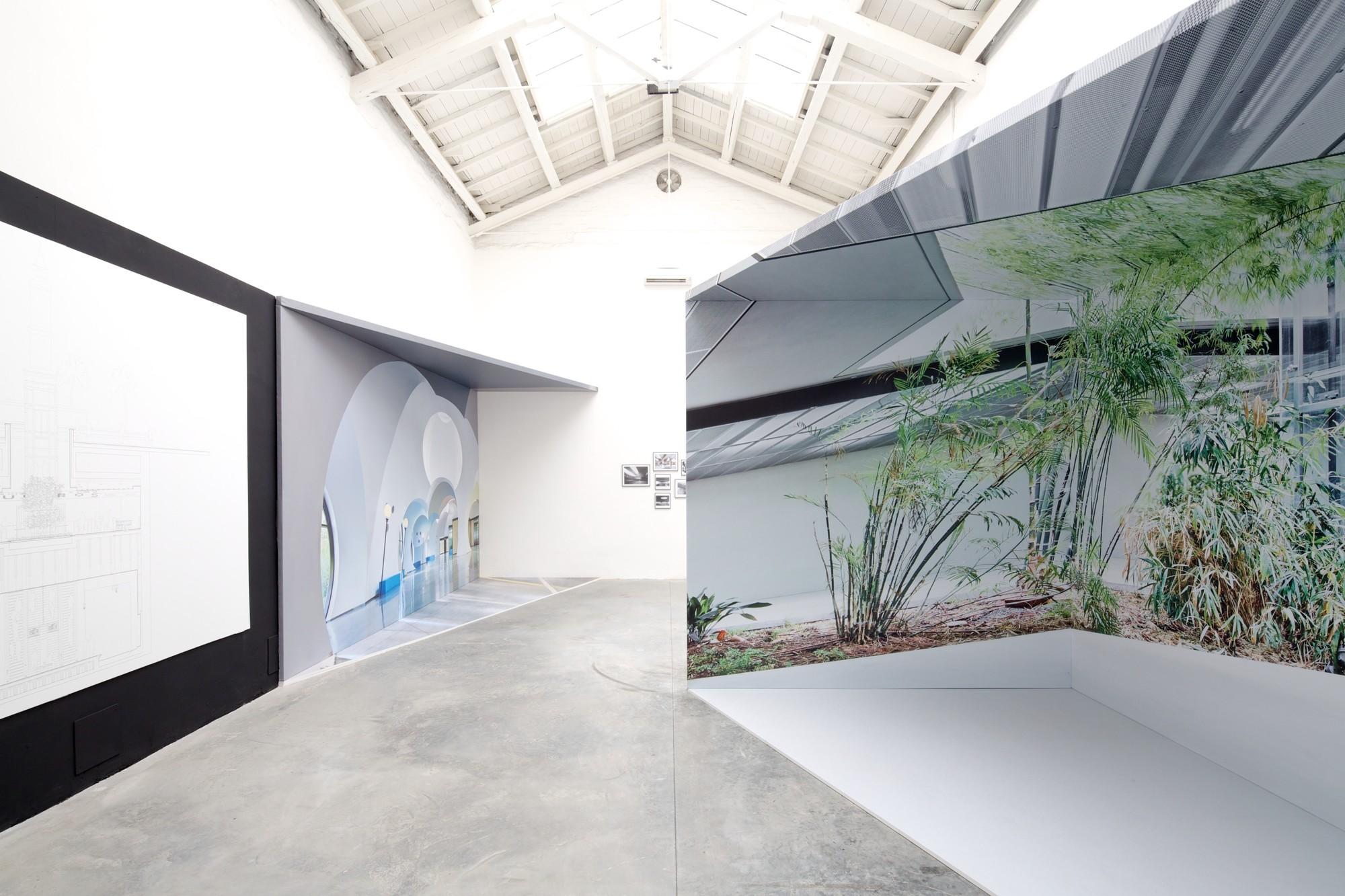 """Iñaki Ábalos' Spanish Pavilion at the Venice Biennale: """"Interior"""", © Nico Saieh"""