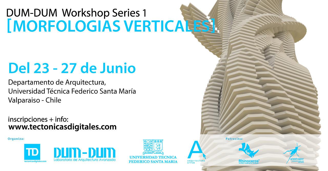 """Workshop Series 1: """"Morfologías verticales"""" / ¡Sorteamos un cupo!"""