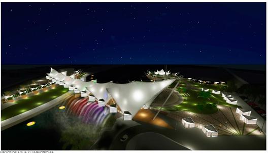 """Primer Lugar: """"Soñemos a Osorno como ciudad destino"""". Image Courtesy of SECPLAN Ilustre Municipalidad de Osorno"""
