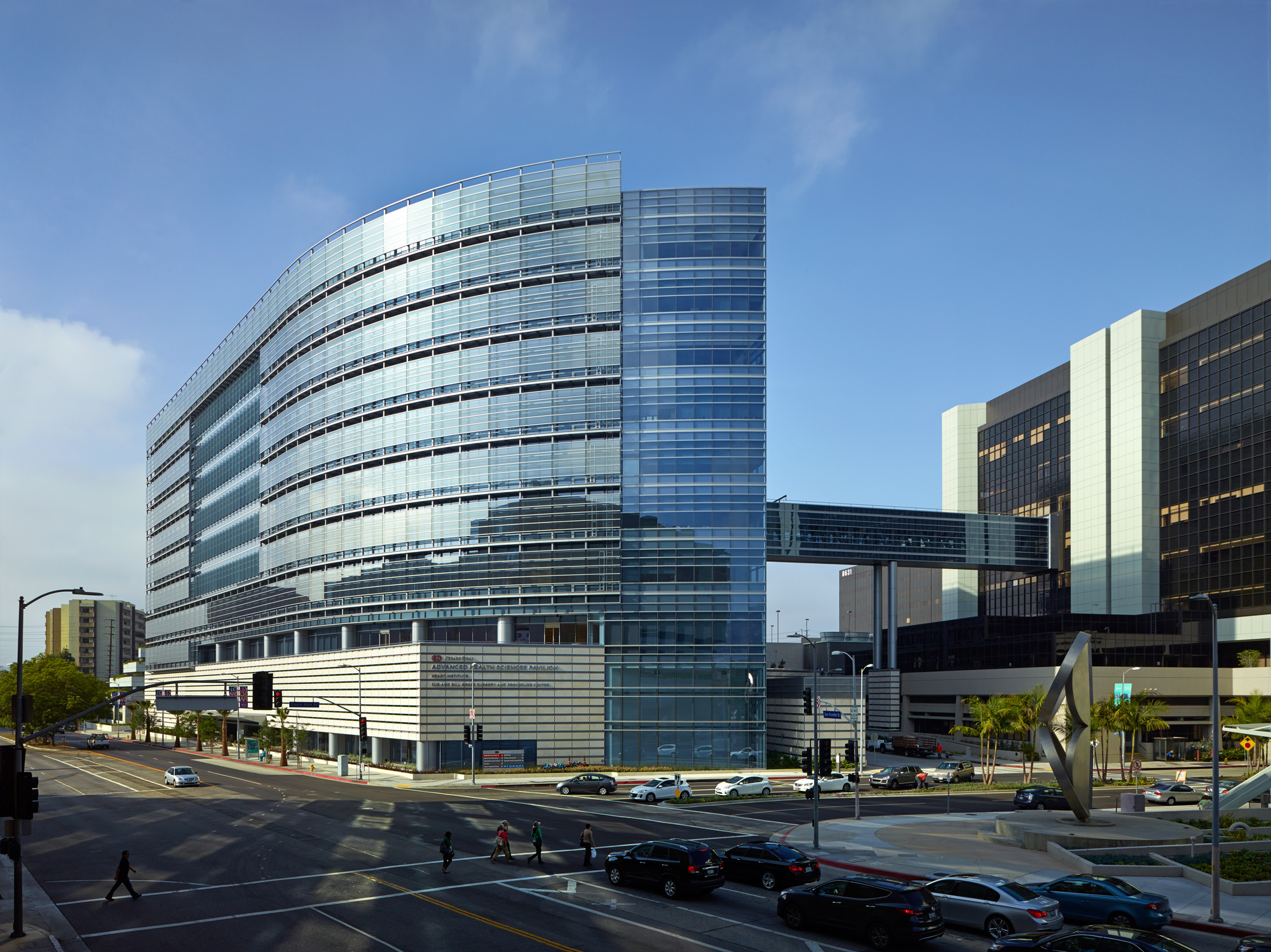 Advanced Health Sciences Pavilion, Cedars-Sinai Medical Center © John Linden