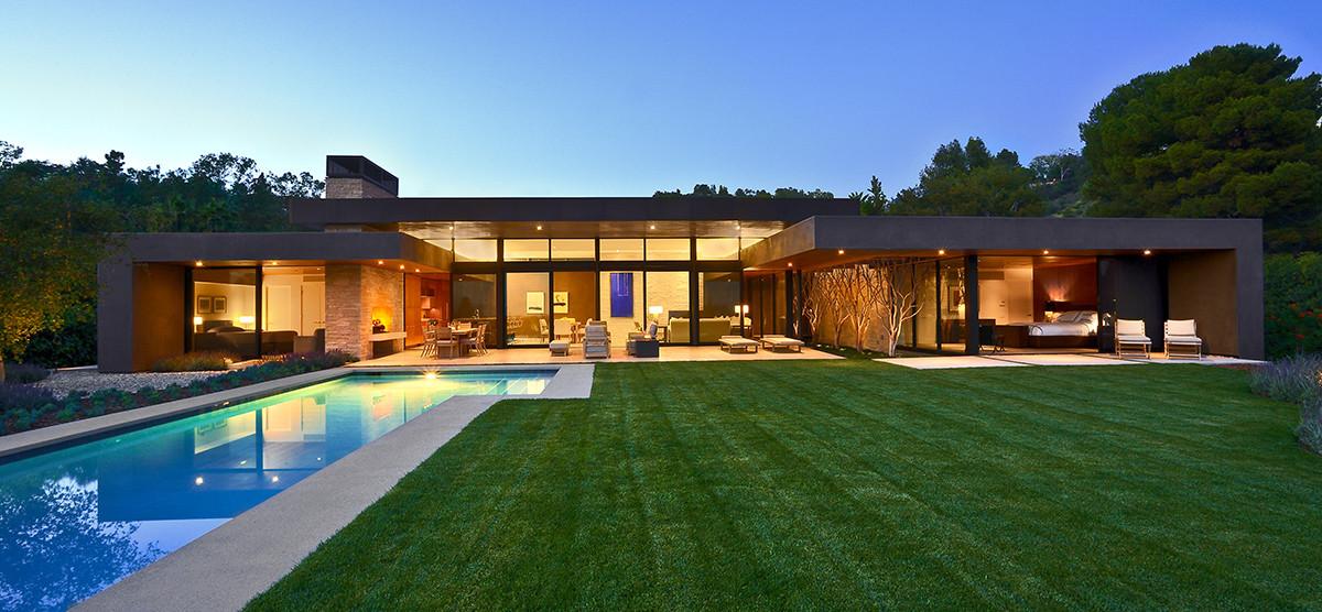 Trousdale Residence © Barry Schwartz