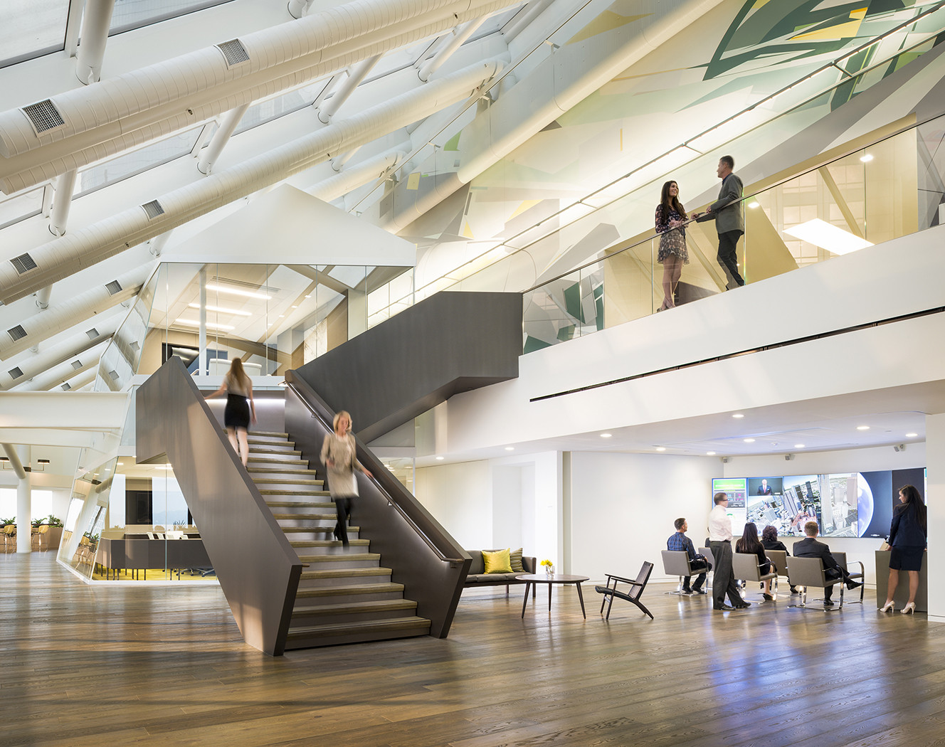 CBRE Global Corporate Headquarters © Gensler, Ryan Gobuty