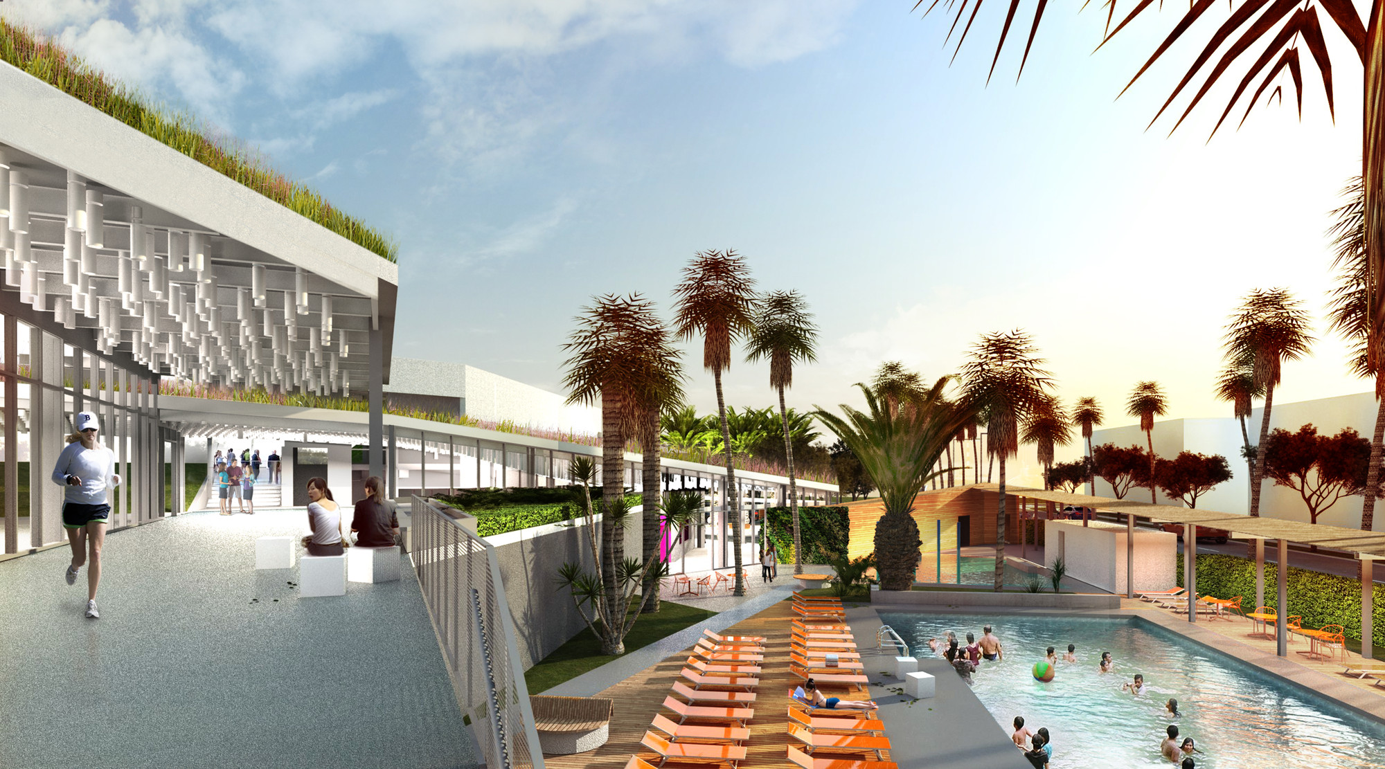 The Resort at Playa Vista © Model –Tom Bonner