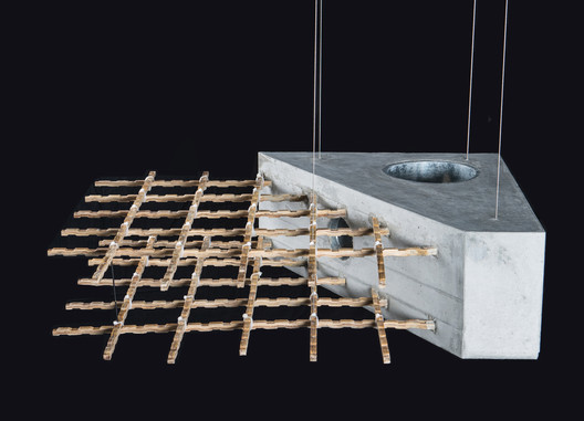 bamboo reinforcement. Image © Professorship of Architecture and Con- struction Dirk E. Hebel, ETH 3) Zürich / FCL Singapore