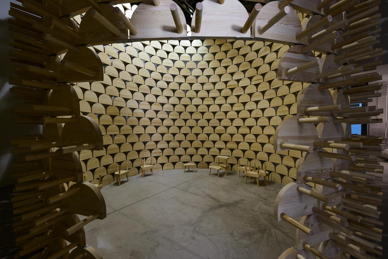 Pabellón de Kosovo. Imagen © Andrea Avezzù, Cortesía de la Biennale di Venezia