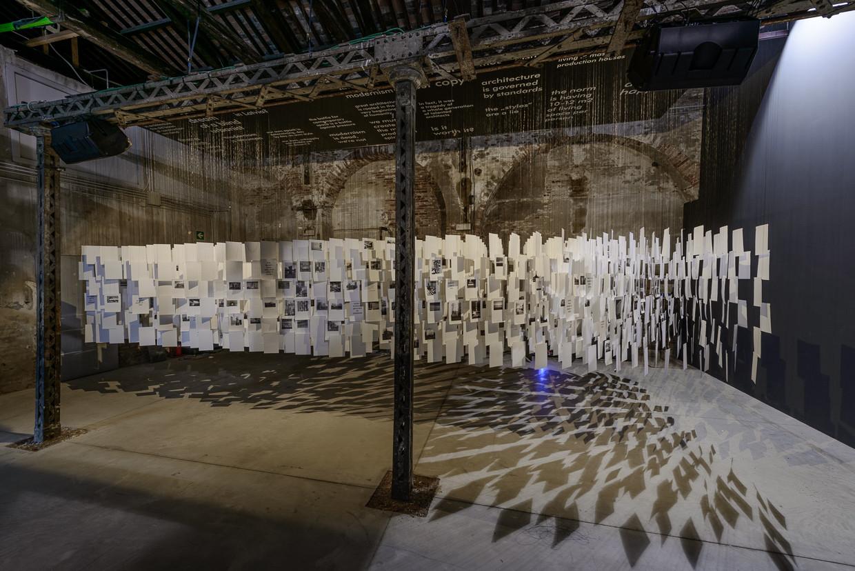 Pabellón de Letonia. Imagen © Andrea Avezzù, Cortesía de la Biennale di Venezia