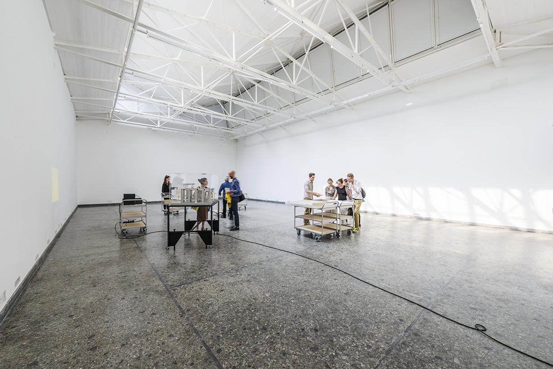 Pabellón de Suiza. Imagen © Andrea Avezzù, Cortesía de la Biennale di Venezia
