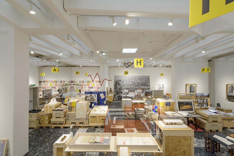 Pabellón de Japón. Imagen © Andrea Avezzù, Cortesía de la Biennale di Venezia