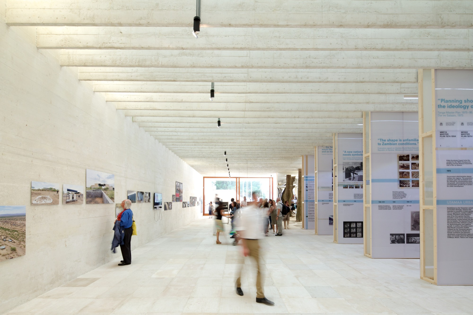 """Forms of Freedom: African Independence and Nordic Models"" - The Nordic Pavilion at the Venice Biennale 2014, © Nico Saieh"