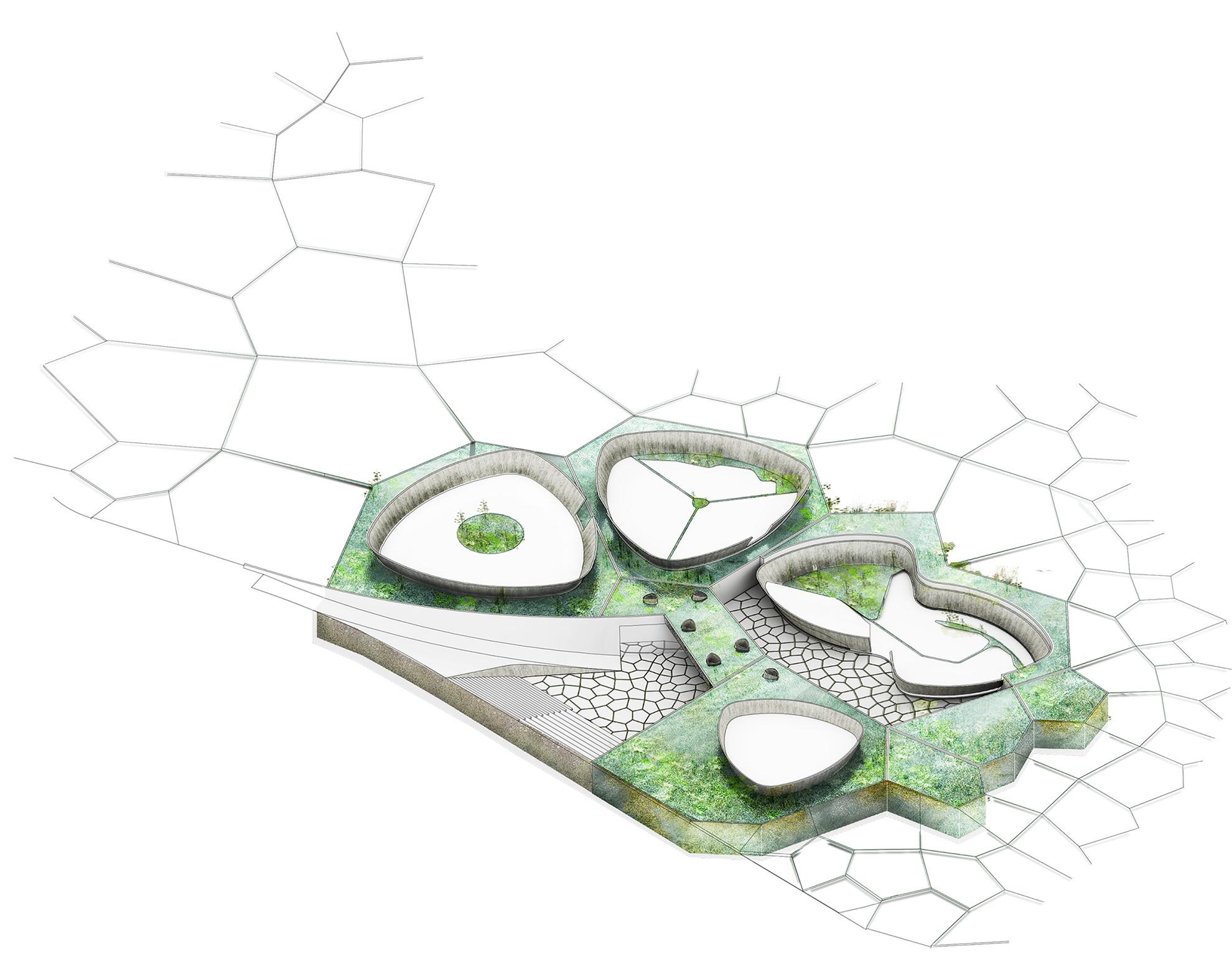 Humedal. Image Courtesy of De Arquitectura y Paisaje