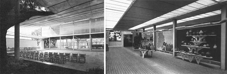 Sección longitudinal / Interior de la exposición . Image Courtesy of Óscar Miguel Ares