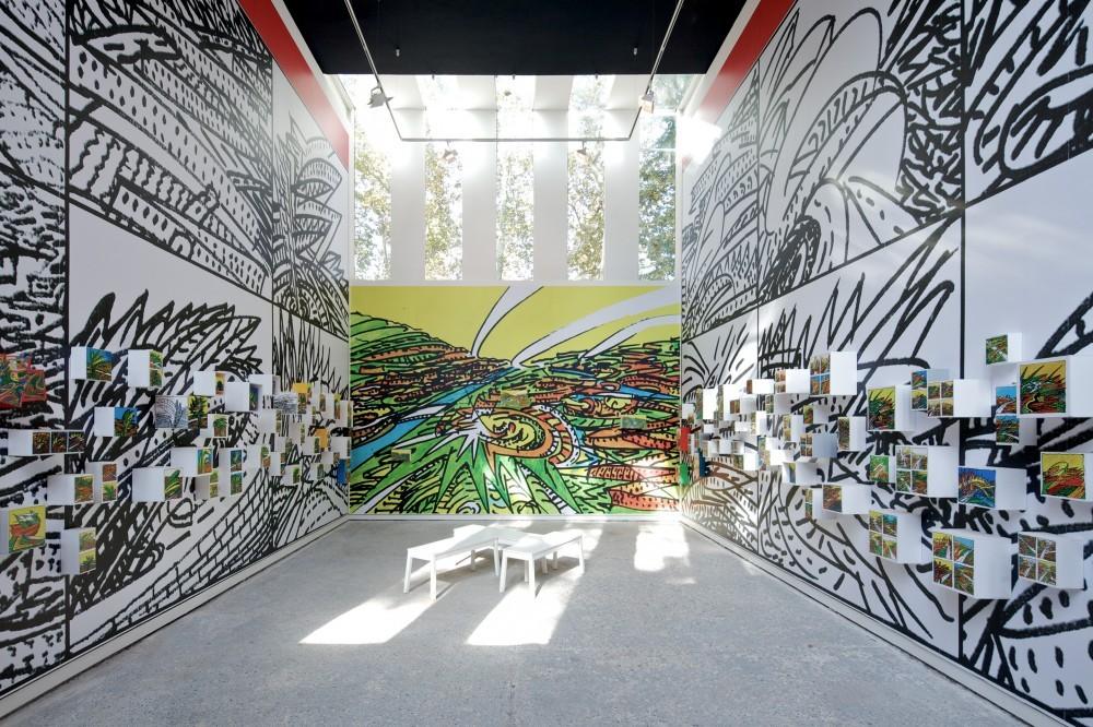 Pabellón de Venezuela en su última participación en la Bienal de Venecia (2012). Image © Nico Saieh