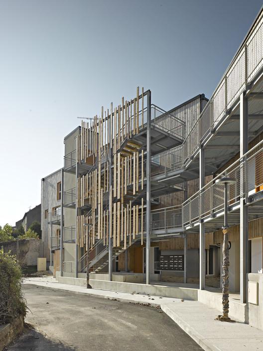 24 viviendas en Argenton Sur Creuse / Atelier Alassoeur, © Brice Desrez