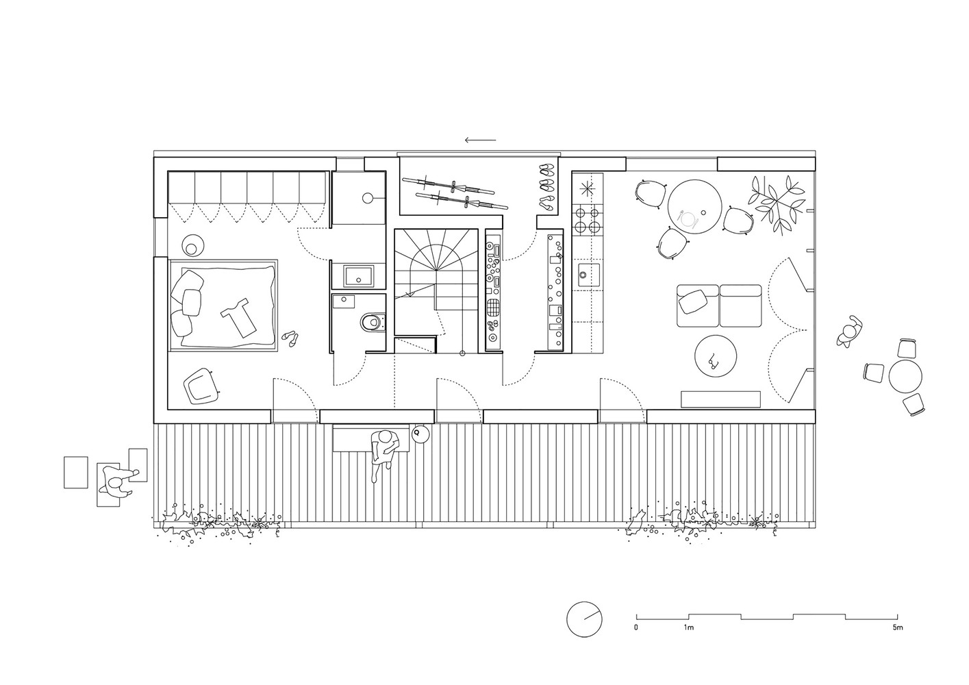 IST-Family House,First Floor Plan