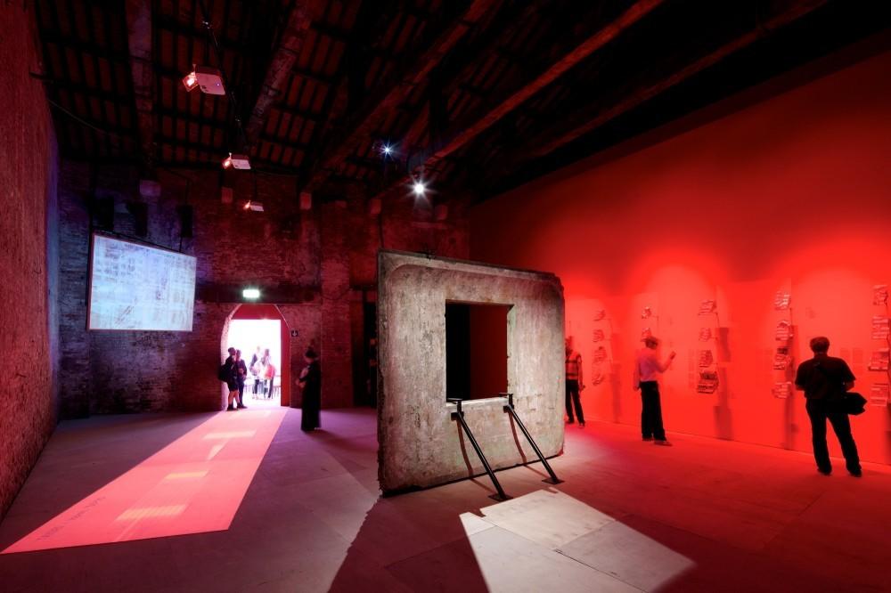 Pabellón de Chile en la Bienal de Venecia 2014. Image © Nico Saieh