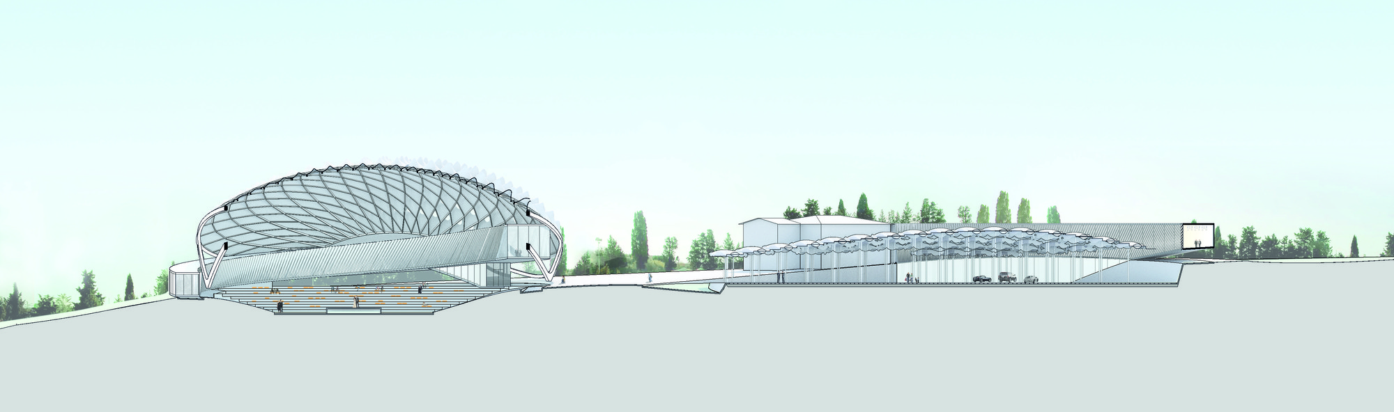 """Gallery of Asymptote Architecture to Design """"Park of Angels"""" in Italy - 15"""