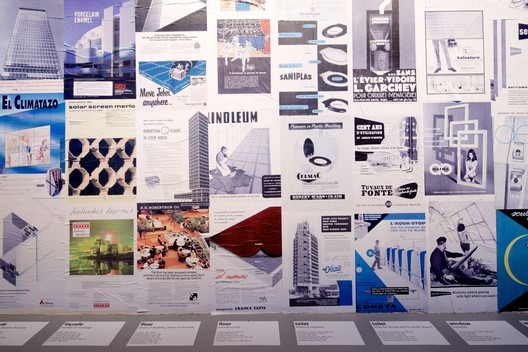 Elements in Advertisements. Elements of Architecture. Image © Nico Saieh