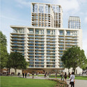 Building 5 – residential use; Stanton Williams. Image Courtesy of The Canary Wharf and Qatari Diar Groups