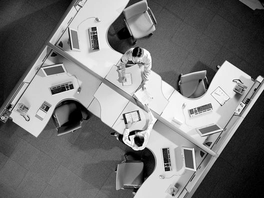 Materiales: Guía de mobiliario para Oficinas, Mobiliario de Oficina Puzzle Plu / SOS/Fursys