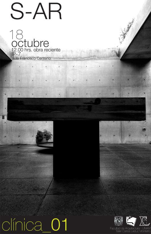 Conferencia y Clínica de S-AR en la Facultad de Arquitectura de la UNAM