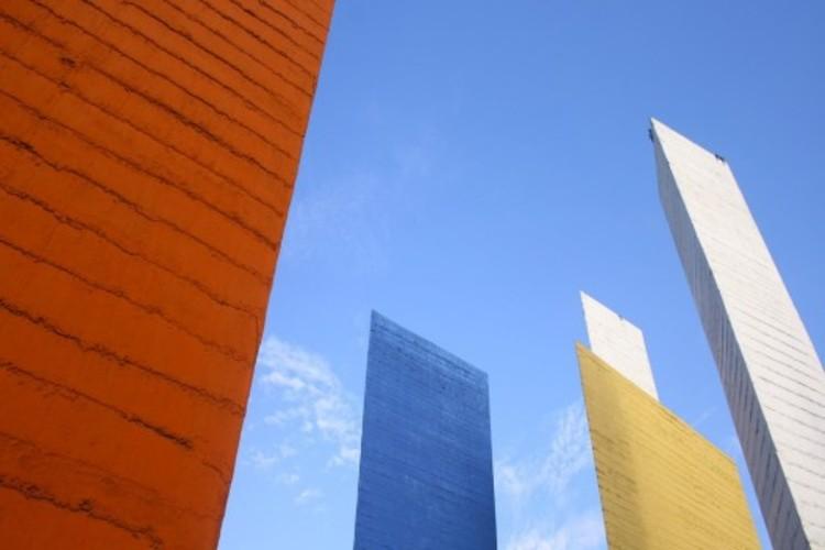 Torres de Satélite y Museo Diego Rivera ahora Monumentos Artísticos