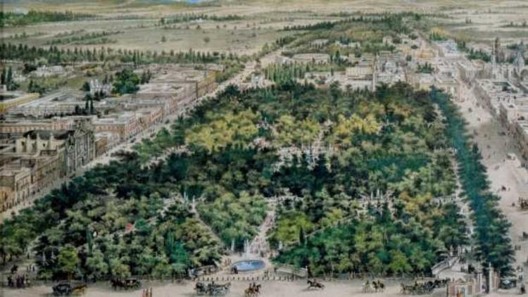 La Alameda Central, el parque tradicional en Ciudad de México, finalmente reabre sus puertas