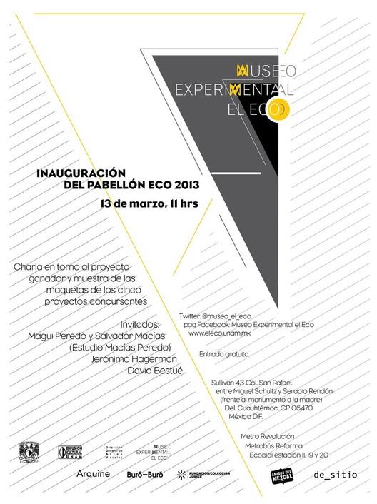 Inauguración Pabellón Eco 2013