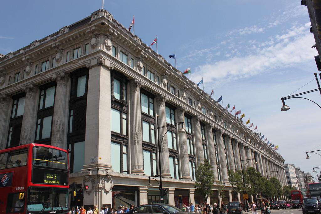 David Chipperfield Picked to Remodel Selfridges' London Store, © Flickr CC User Jennifer Martinez
