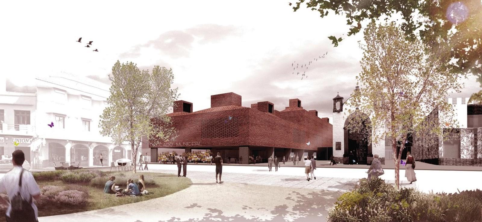 Propuesta para Concurso de Reconstrucción del Mercado la Laguna. Image © Josep Ferrando + Marc Nadal + David Recio