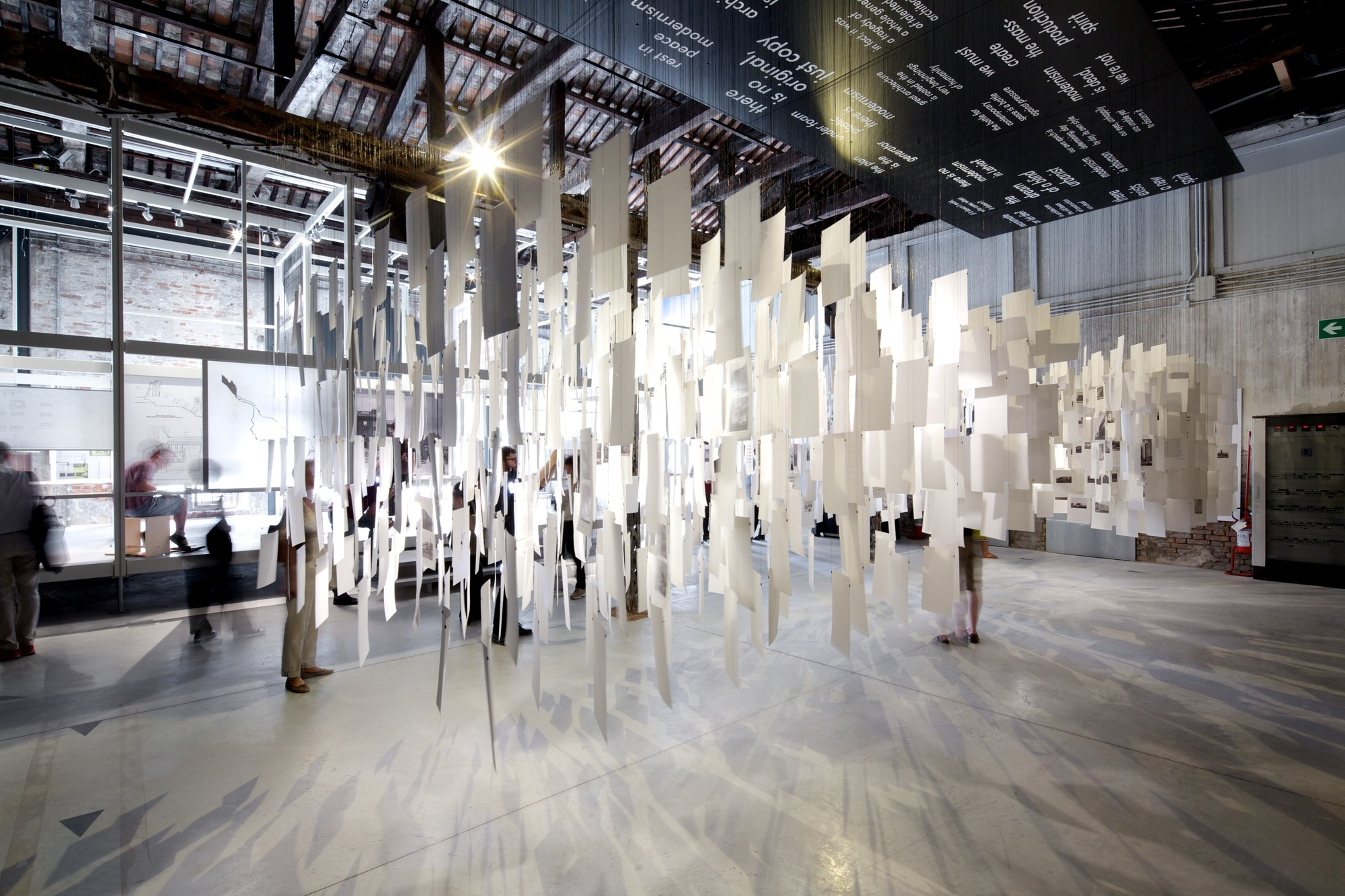 """Unwritten"" - Latvia's Pavilion at the Venice Biennale 2014, © Nico Saieh"